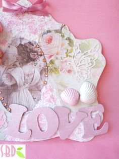 Cornice Shabby Chic - Shabby Chic Frame by SweetBioDesign