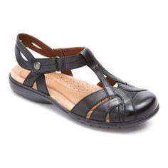 4bbd2838792ba Rockport Women s Cobb Hill Penfield T Strap Sandal