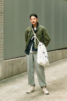 January 2020 Women's Streetwere Style in Seoul – écheveau