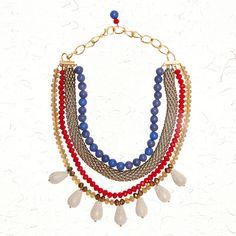 Bead bohemia necklace Available on www.fabulloso.com