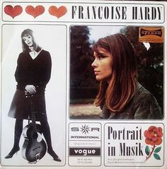 my dad used to listen to francoise hardy when i was little. my obsession with the french language began with her music.