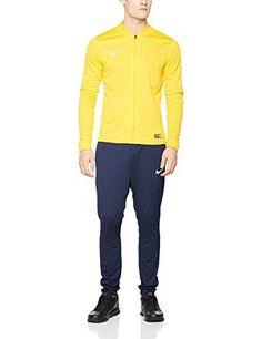 Nike Academy16 Knt Tracksuit 2 Veste et pantalon pour homme: Technologie Dri-FIT pour vous aider à rester au sec et à l'aise Col, poignets…