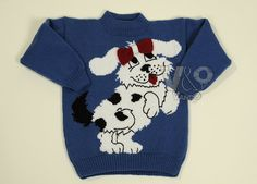 Child's knitted sweater. Baby clothing. Baby sweater. by VandOUA, $50.00