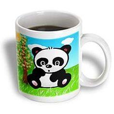 Panda Bear - 11oz Mug by 3dRose LLC, http://www.amazon.com/dp/B003ZL34WW/ref=cm_sw_r_pi_dp_DUznqb1C038QQ