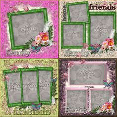 Digital Scrapbooking Kits | Sweet Casa Template-(CatDes) | Decorative, Everyday, Family, Friends | MyMemories