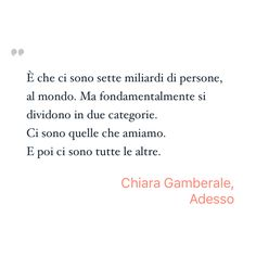 Inspiring Quote by Chiara Gamberale from Adesso - Saved on @quotle