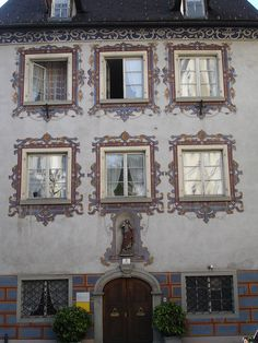 Feldkirch, Austria - photo by H. Feldkirch, Flower Boxes, Windows And Doors, All Over The World, Austria, Explore, Beautiful, Window Boxes, Planter Boxes