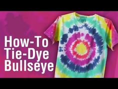 The Official Store for Tulip Tie-dye Products. Learn how to tie dye with our easy instructions and various techniques. Create all your favorite tie-dye designs with 1 kit. Tie Dye Tips, How To Tie Dye, Tie And Dye, Diy Craft Projects, Sewing Projects, Diy Tie Dye Designs, Diy Tie Dye Techniques, Ty Dye, Tie Dye Crafts