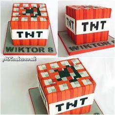 TNT - Minecraft cake