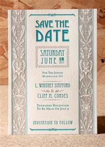 Save the Dates @Julia Allen