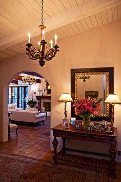 10 Spanish Inspired Rooms California Spanish Revival Spanish