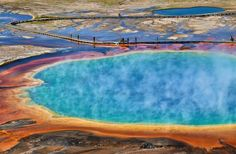 20 US Places to See Before You Die Grand Prismatic Spring, Yellowstone