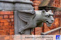 Keenan Lynch Architects' survey reveal the hidden charms of a Dublin townhouse. Lynch, Dublin, Conservation, Townhouse, Architects, Architecture Design, Charms, Lion Sculpture, Statue