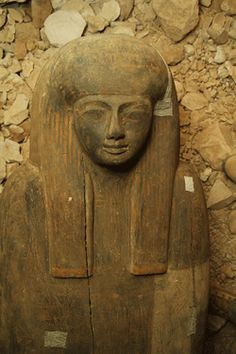 A wooden coffin holding the remains of a temple singer sat inside a tomb undisturbed for nearly 3,000 years. It is the first unlooted burial to be found in the Valley of the Kings since 1922.