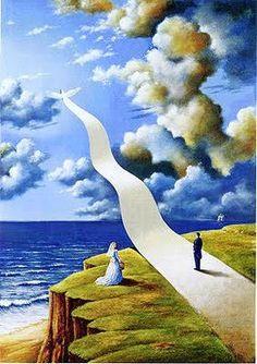 O surrealismo e o simbolismo de Rafal Olbinski