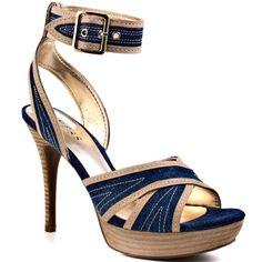 Guess Shoes - Belvar 3 - Blue Multi Fabric