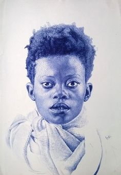 Exquisite Photorealistic Portraits Created Using a Ballpoint Pen - My Modern Met