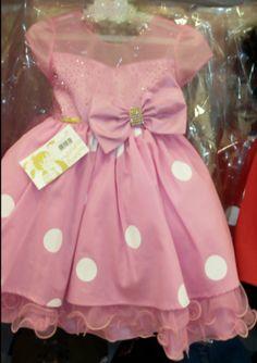 Vestido Minnie Rosa REF: MB71413
