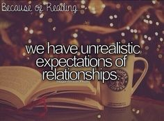 Because of reading..