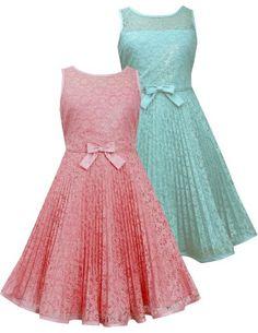Bonnie Jean Tween Girls 7-16 Lace Sunburst Pleat Illusion Neckline Dress (7, Coral) Bonnie Jean http://www.amazon.com/dp/B00J1E6IXO/ref=cm_sw_r_pi_dp_4MjDvb1T8EN6X
