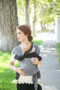 e8ced6d8938 Classic Baby Wrap How-To + A Happy Baby Wrap Giveaway! (The Freckled Fox)