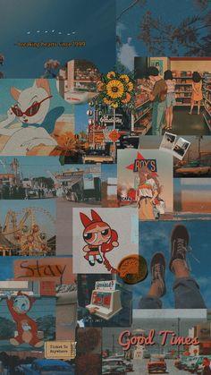 [Art] Aesthetic Wallpaper yellow retro Papel de parede