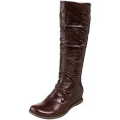 I love these boots!  I love that they have that old-fashioned quality about them!  So cute and they look really comfortable:)