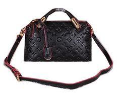 Louis Vuitton Monogram Empreinte Tote Bags M94112 Black - $209.00