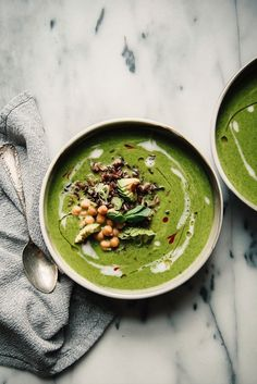 These Hearty Green Soups Are as Healthy as They Are Beautiful