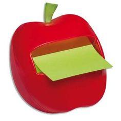 Cette pomme rouge n'est pas empoisonnée, elle est très pratique et apporte une touche de couleur et d'originalité au bureau !