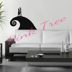 Extra Large Wall Decals Nightmare Before by PinkTreeDesign on Etsy, $12.50