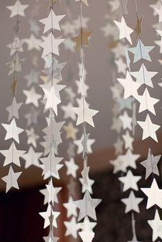 White Star garlands