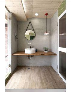 8 Cheap And Easy Cool Ideas: Minimalist Bedroom Carpet Simple minimalist bedroom decor desk space.Minimalist Decor Home House Tours chic minimalist bedroom beds. Wood Bathroom, Bathroom Colors, Bathroom Flooring, Bathroom Interior, Small Bathroom, Bathroom Ideas, Bathroom Cabinets, Relaxing Bathroom, Bathroom Beach