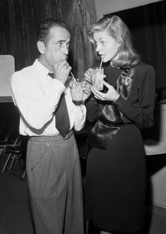 Humphrey Bogart and Lauren Bacall - the original hollywood power couple