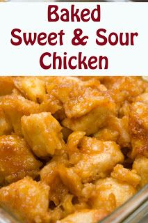 Life with Moore Babies: Baked Sweet and Sour Chicken