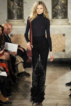 Emilio Pucci Fall 2010 Ready-to-Wear Fashion Show - Magdalena Frackowiak
