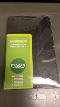 """*REDUCED* NEW WOW BRAND PROTECTIVE COVER, COMPATIBLE WITH GOOGLE NEXUS 7""""-BLACK #Wow"""