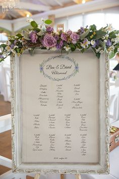 Esküvői dekoráció, vintage (Provance) ültető tábla Visegrádon (Gondos Orsi) Garden Wedding, Wedding Table, Diy Wedding, Floral Centerpieces, Table Plans, Planer, Wedding Decorations, Frame, Weddings