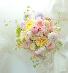 9シェアブーケ サンスエサヴール様へ  絆~KIZUNAをシェア : 一会 ウエディングの花