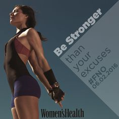 Be stronger than your excuses! #FNO #Motivation #quotes