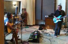 the band BRAD | Stone Gossard - Keith Lowe | Studio Litho, Seattle 2011