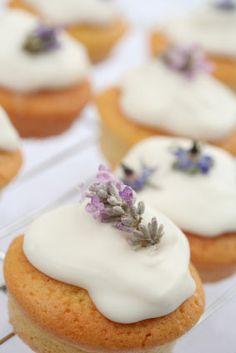 lovely lavender cupcakes