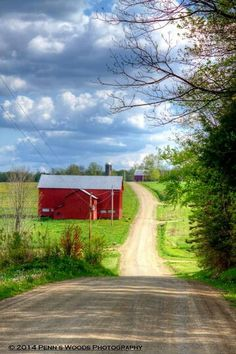 Red barn--would love to turn this into a home or large coffee house, complete with live entertainment: open mike nights, poetry slams, etc.