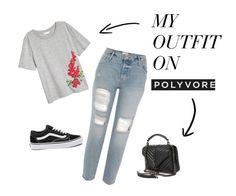 """summer"" by diablicowa on Polyvore featuring moda, Vans i Yves Saint Laurent"