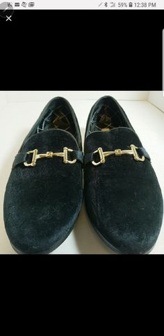 5344d32bf7e Mens Steve Madden Velvet Black Loafers -MINT  fashion  clothing  shoes   accessories
