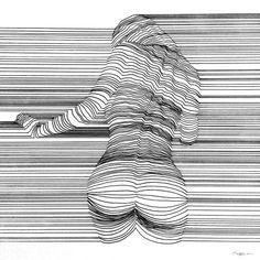 #lineart #sensualart #drawing