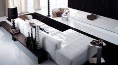 Salotto con Divano letto ad angolo moderno COOPER LOW Frigerio Salotti