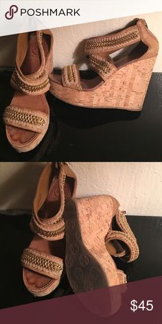 Tory Burch Wedges Authentic. Tory Burch Shoes