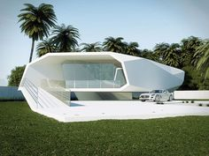 Wave House Concept by Gunes Peksen 2 30 Best Minimalist Home Designs Presented on Freshome