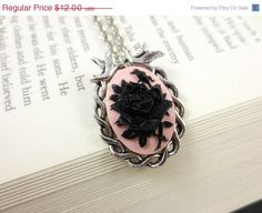 SALE 30 Off Victorian Romance Necklace  Silver by BellaStarGlam